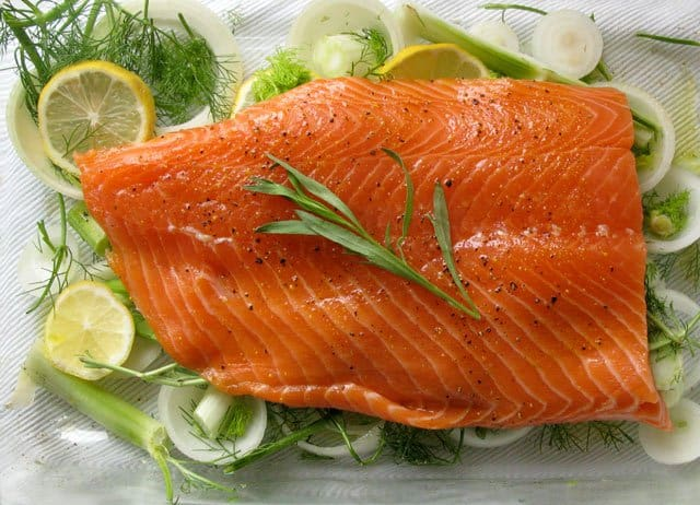 salmon - super food