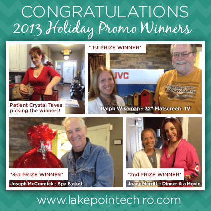 2013 Christmas Promo Winners